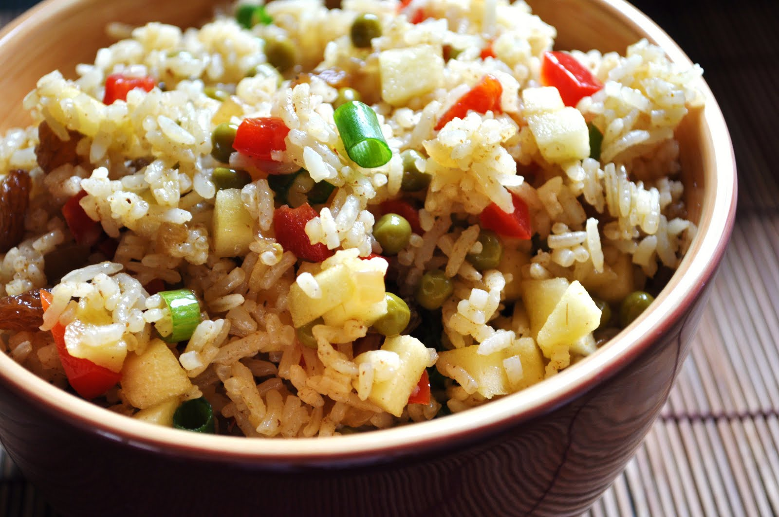 Tales of a Babbling Spoon: Curry Rice Salad