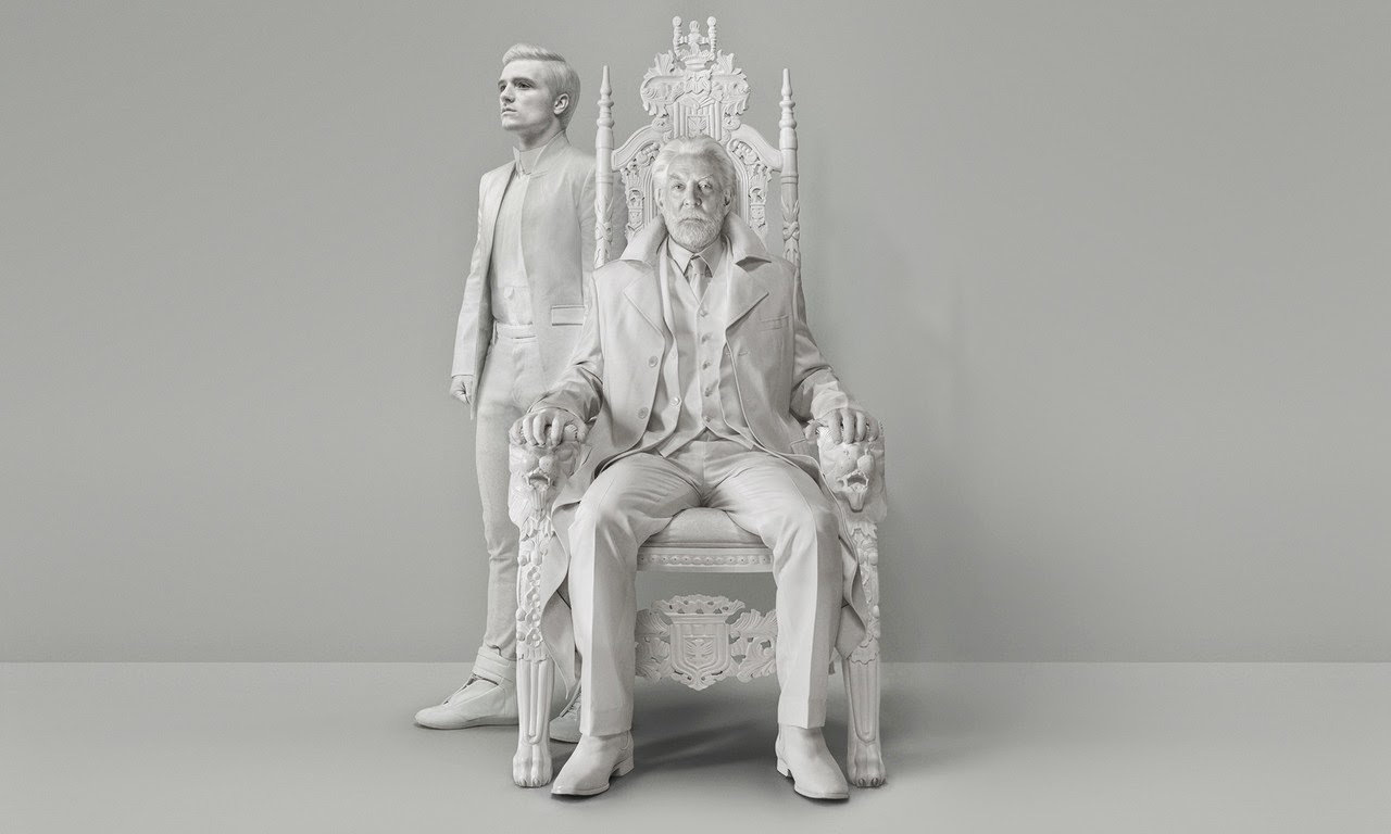 Peeta President Snow Mockingjay Part 1 Statue high quality