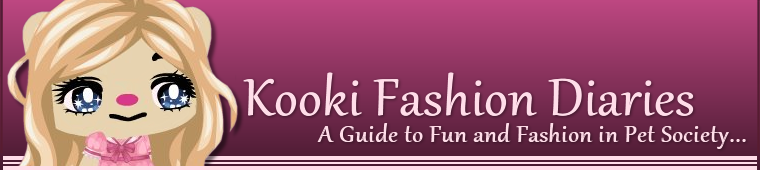 Pet Society - Kooki Fashion Diaries...