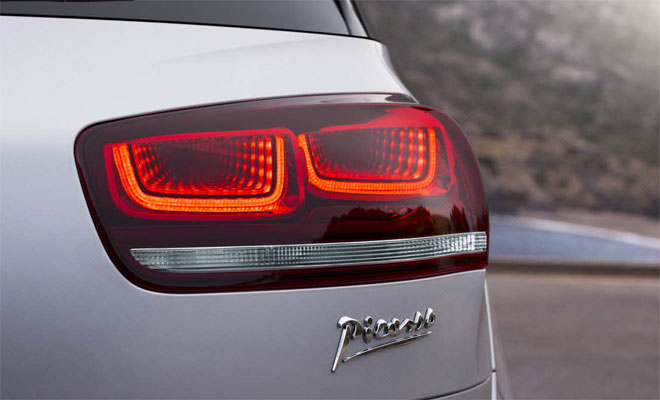 New Citroen C4 Picasso tail lamps