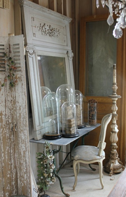 shabby chic vintage salvage decor i heart shabby chic. Black Bedroom Furniture Sets. Home Design Ideas