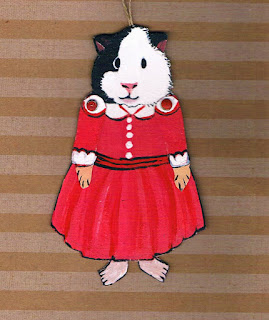 Guinea Pig Paper Doll