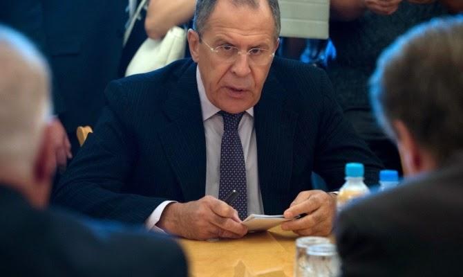 Министр иностранных дел Лавров на пресс-конференции в Нью-Йорке заявил, что отказ Украины от внеблокового статуса - ошибка, подрывающая безопасность в Европе