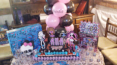 DECORACION FIESTA MONSTER HIGH