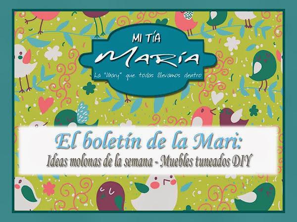 El bolet�n de la Mari: Ideas molonas de la semana - Muebles tuneados DIY