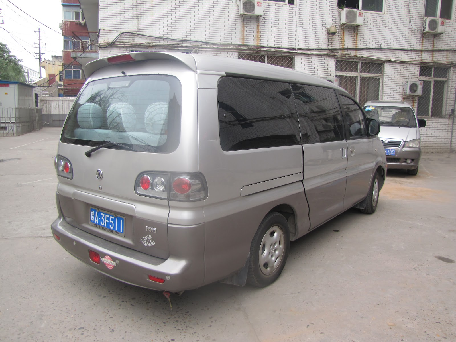 our ride to luoyang 13 squeezed into it at one point
