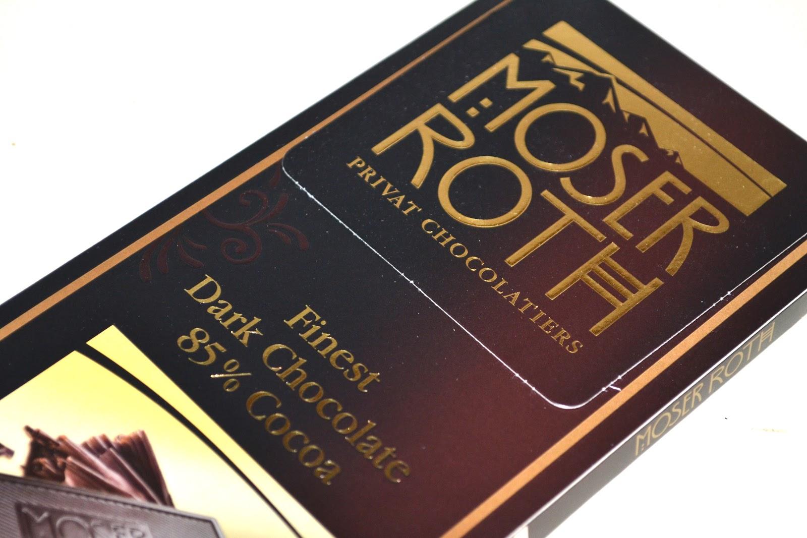 Moser Roth Dark Chocolate  Cocoa