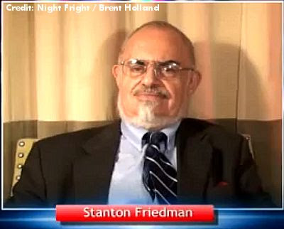 Stan Friedman on  Night Fright Show with Brent Holland