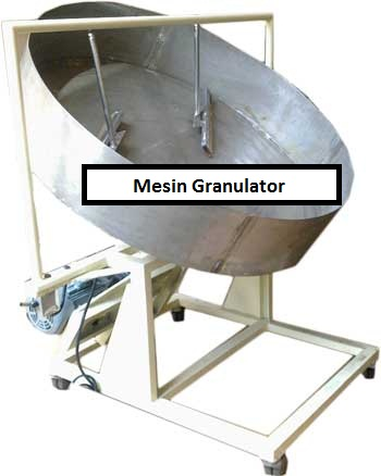 Mesin Granulator (Pembuat Butiran)