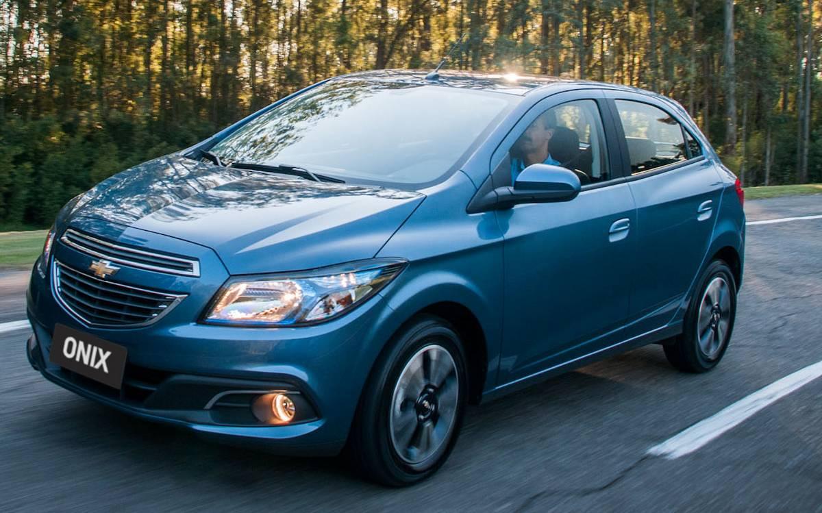 Chevrolet Onix - segundo carro carro mais vendido do Brasil