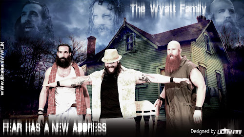 "Wallpaper » Download The Wyatt Family ""Fear Has A New Address"" HQ Wallpaper By Uday Rai via iPOST"