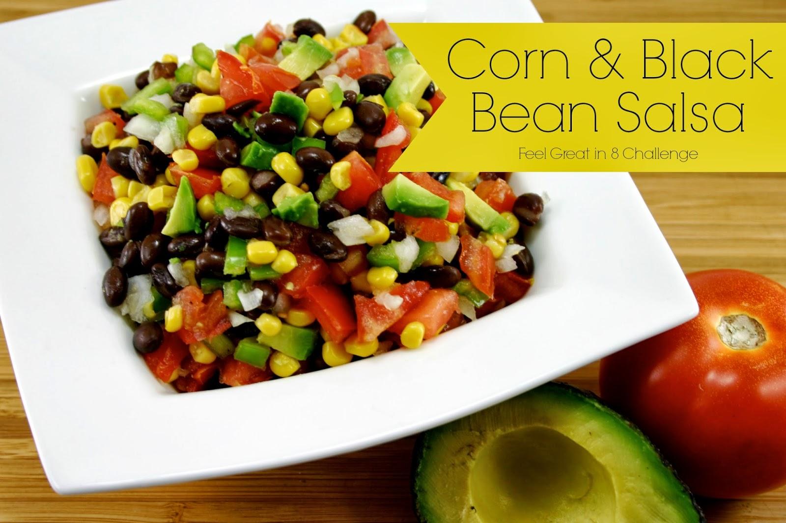 how to make black bean salsa