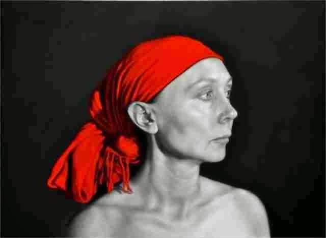 Красные картины. Arina Gordienko