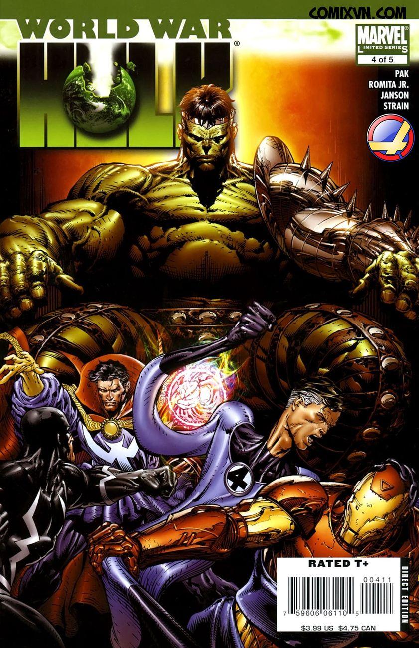 World War Hulk Chap 4 - Next Chap 5