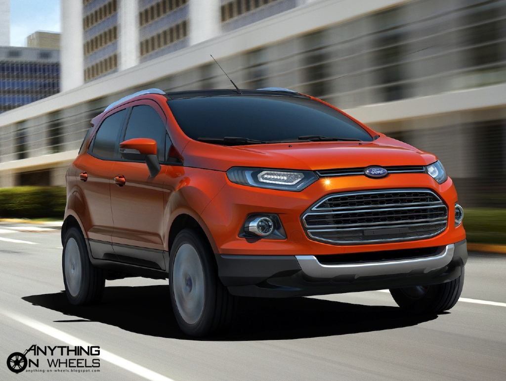 anything on wheels ford unveils all new ecosport compact suv in new delhi. Black Bedroom Furniture Sets. Home Design Ideas