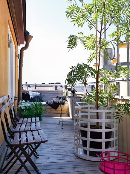 Estilo rustico balcones en estilo rustico - Balcones pequenos con encanto ...
