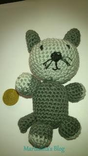 amigurimi, gato, ganchillo, crochet,