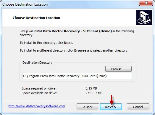 Data Doctor Recovery Sim Card