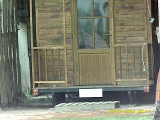 piccola casa in legno