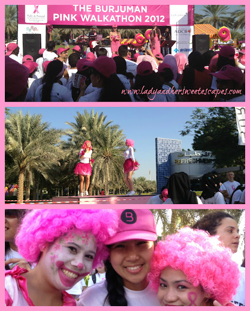 events at_the Pink Walkathon
