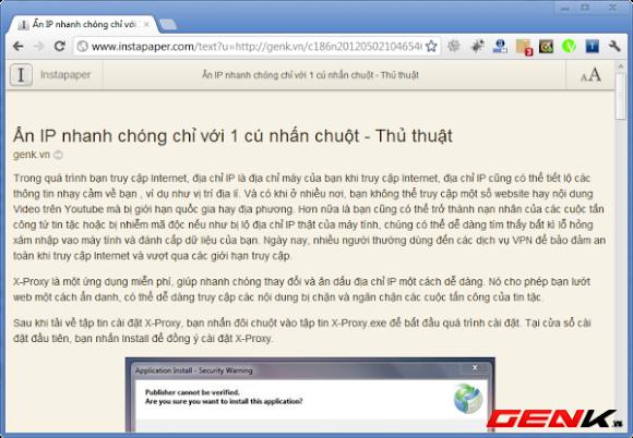 Đọc báo điện tử như đọc báo giấy trên Chrome và Firefox