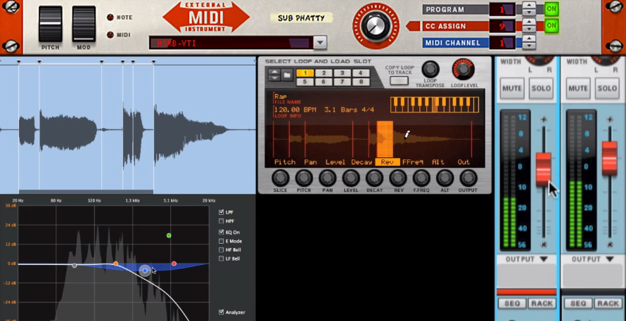 Propellerhead Reason 7 screen 2