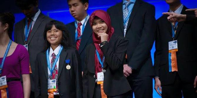 2 Siswi SMA Sekayu Raih Award di AS, Karena Buat kulkas tanpa listrik