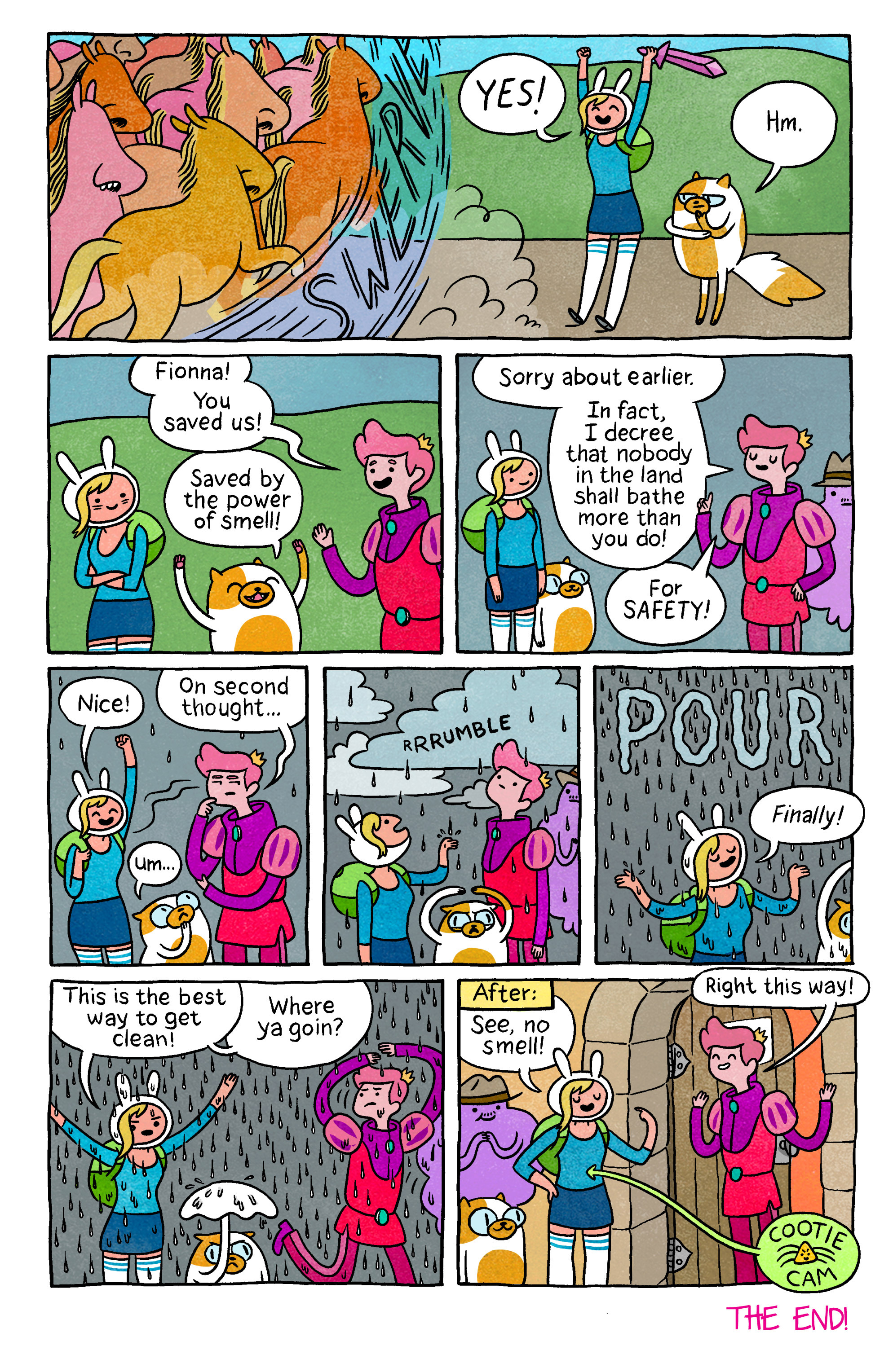 Read online Adventure Time with Fionna & Cake comic -  Issue #5 - 26