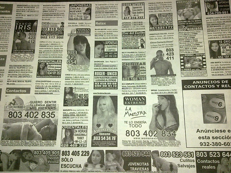 prostitutas en mil anuncios esclava para hombre