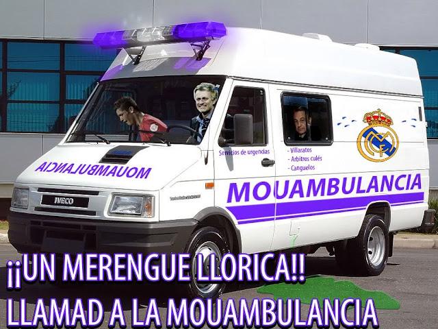 Seccion Real Madrid Buambulancia