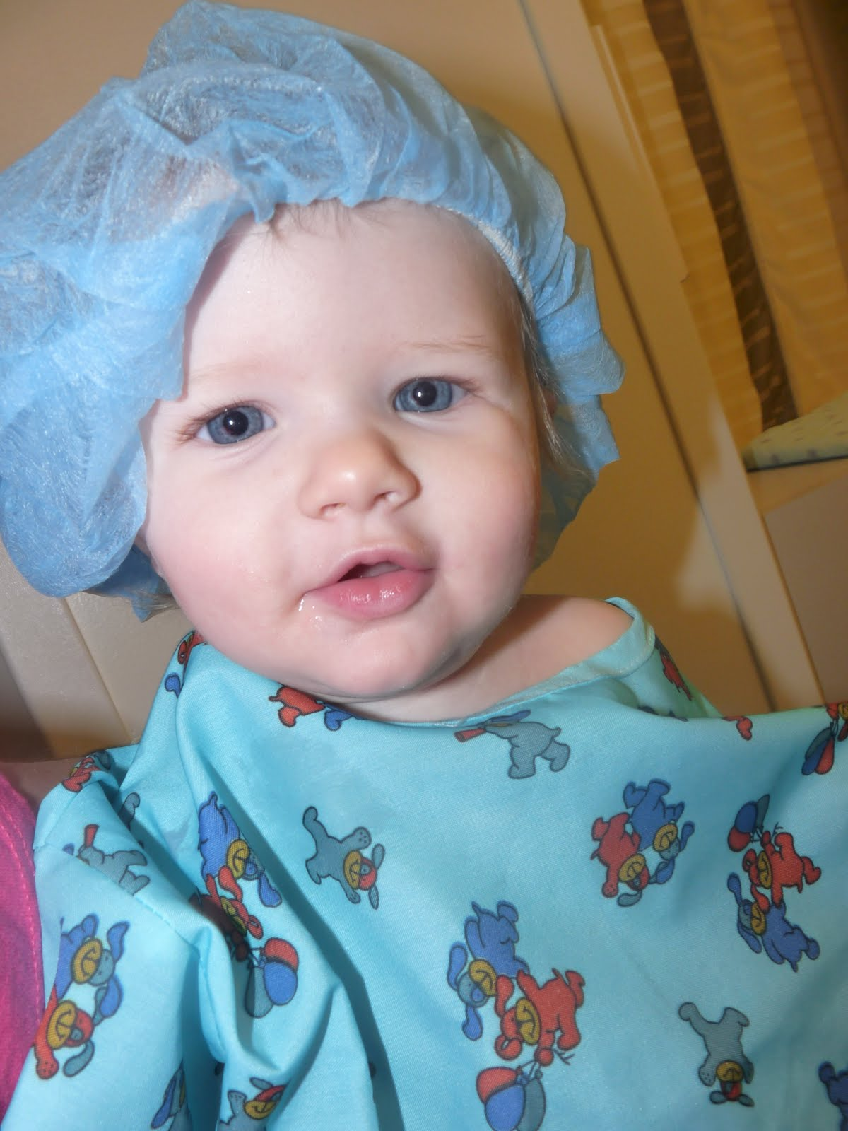 The Grand (Mis)Adventures of Naterbug and Ladybug: Infant Ear Tubes