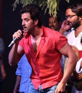 Hrithik Roshan at Jallosh Dahi Handi