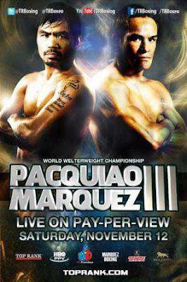 Pacquiao vs Marquez III Live Stream