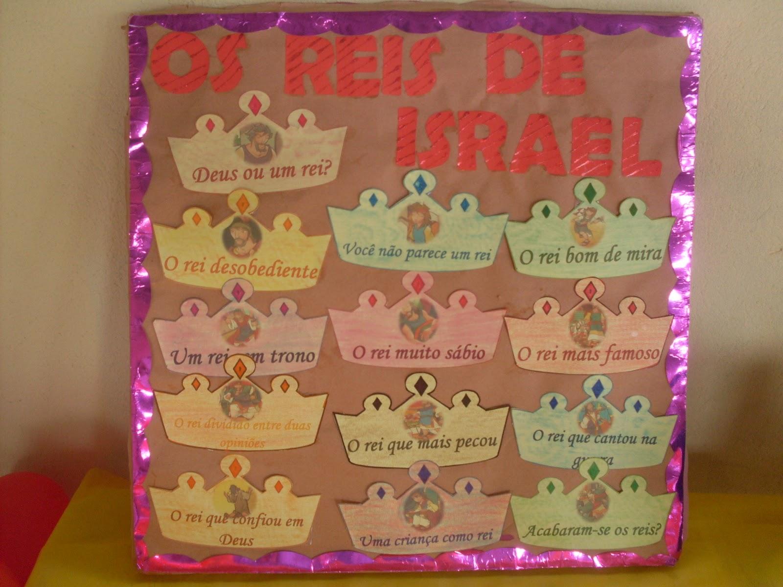 Super EBD Infantil - Denise Luc: Juniores - Revista 3 (Os reis de Israel) RB11
