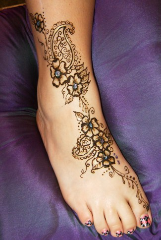 temporary henna tattoos tattoos on foot for women tattoo