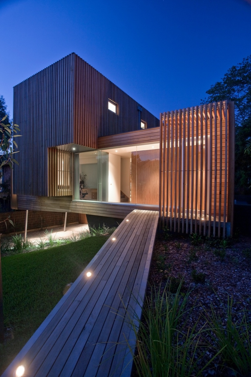 Entrance of the Kew House by Vibe Design Group