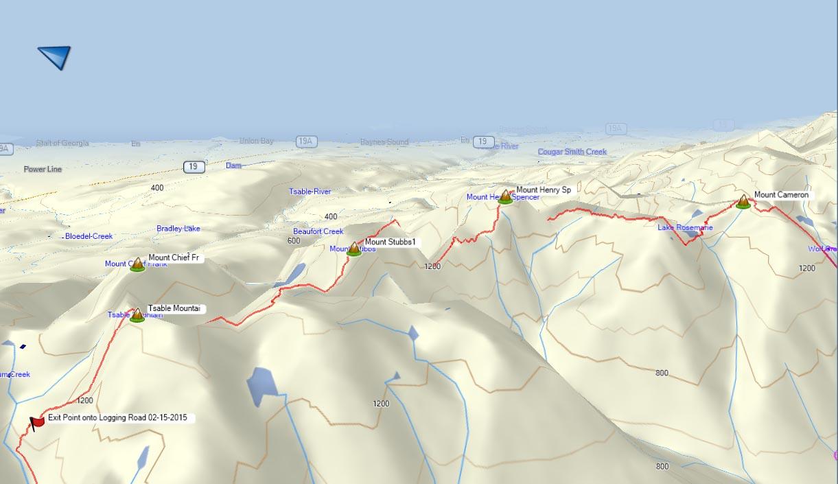 Beaufort Range Hiking