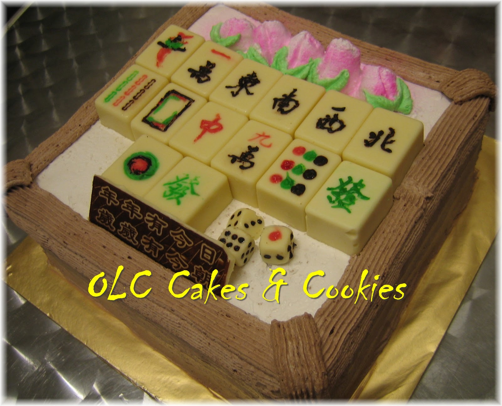 One Love Cafe Cakes Cookies Mahjong Birthday Cake