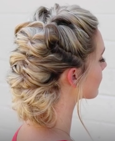 Topsy Tail Hairstyle Tutorial
