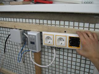 Разводка электричество на лоджии