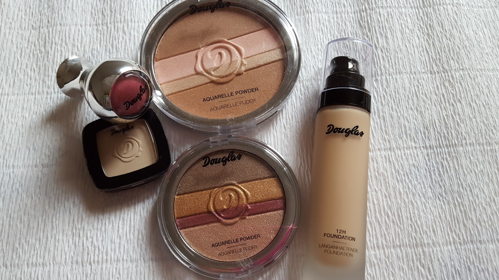 Douglas makeup - recensione e swatches