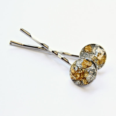 Gold and Silver bobby pins - catherine masi