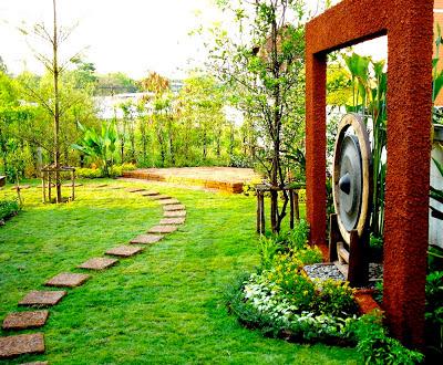 สวน สวย แบบ ง่าย ๆ จัด สวน