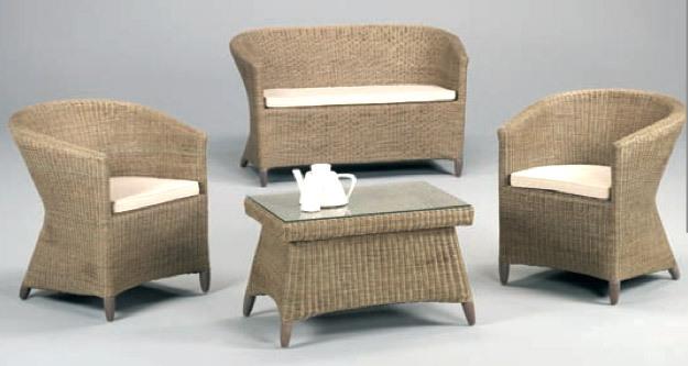 Muebles en rattan for Rattan muebles