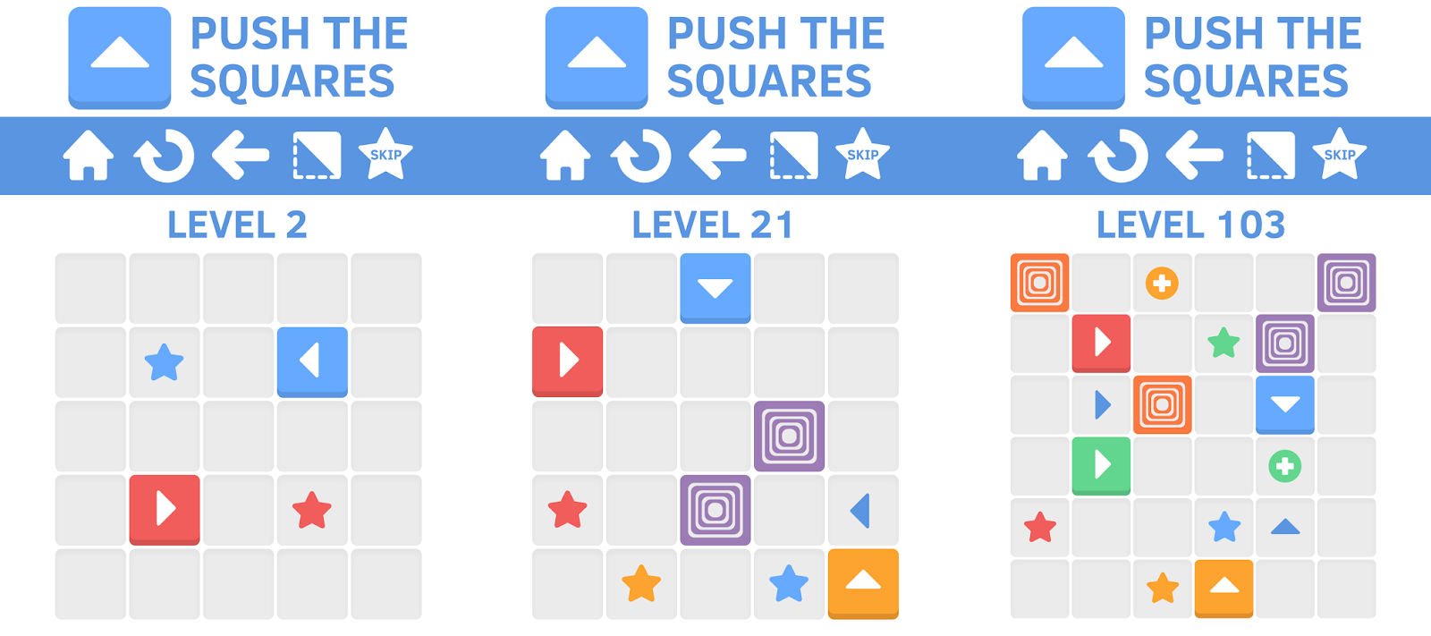 Game color squares - Push The Squares Is An New Kind Of Puzzle Game Made By Ketchapp The Gameplay In Push The Squares Is Simple But Hard To Master You Have Different Kind Of