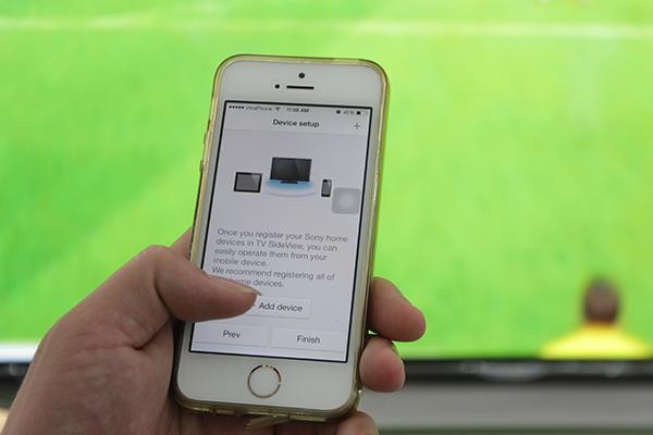 +Add device để lấy thông tin tivi