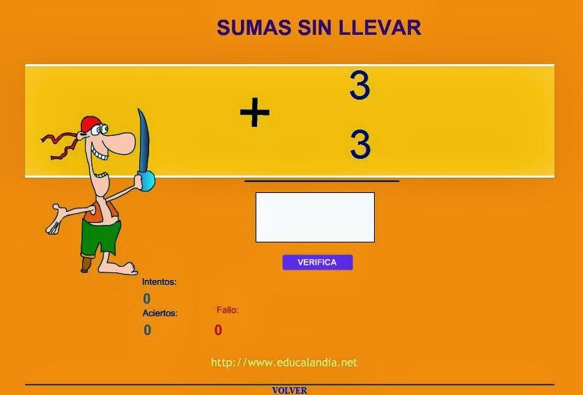 http://www.educalandia.net/multiplicar/sumas_sin_llevar.php