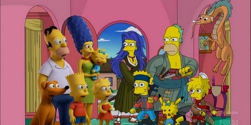 Los Simpson: Episodio de Halloween hace tributo al anime  Simpsons