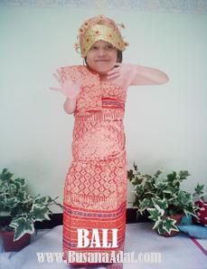 jual baju adat untuk anak putri