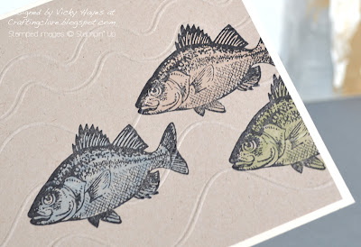 The fish from By the Tide from Stampin' Up